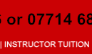 instructor tuition
